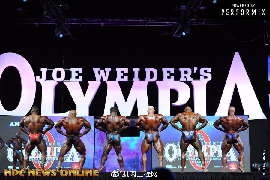 (套图)2018年奥赛健美组男子职业预赛比较v健美五指山漂流哪个好图片