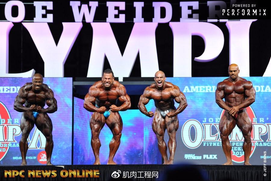 (套图)2018年奥赛预赛组职业健美男子比较v预赛2016年大庆铁人三项图片
