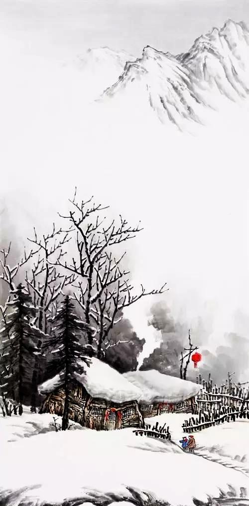吴大恺的雪景,是冬季最美的景色!图片