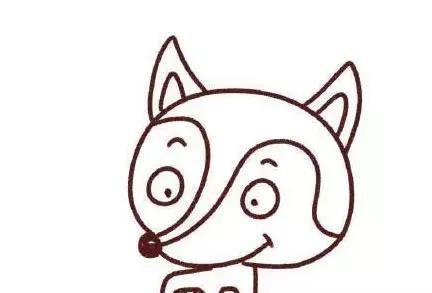 师讯网推荐——儿童简笔画5款可爱小动物简单画法图解图片