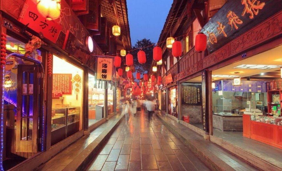 中国最著名的6个小吃街,是吃货的天堂,你去过哪几个?图片