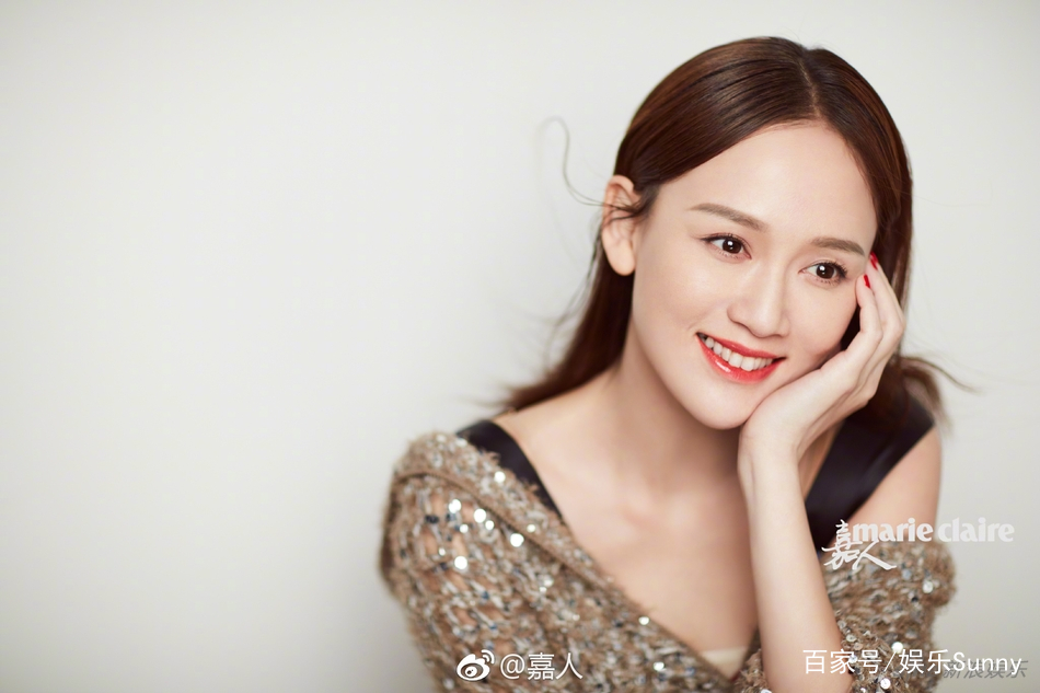 陈乔恩笑容甜美气质成熟 独立知性更添女人味