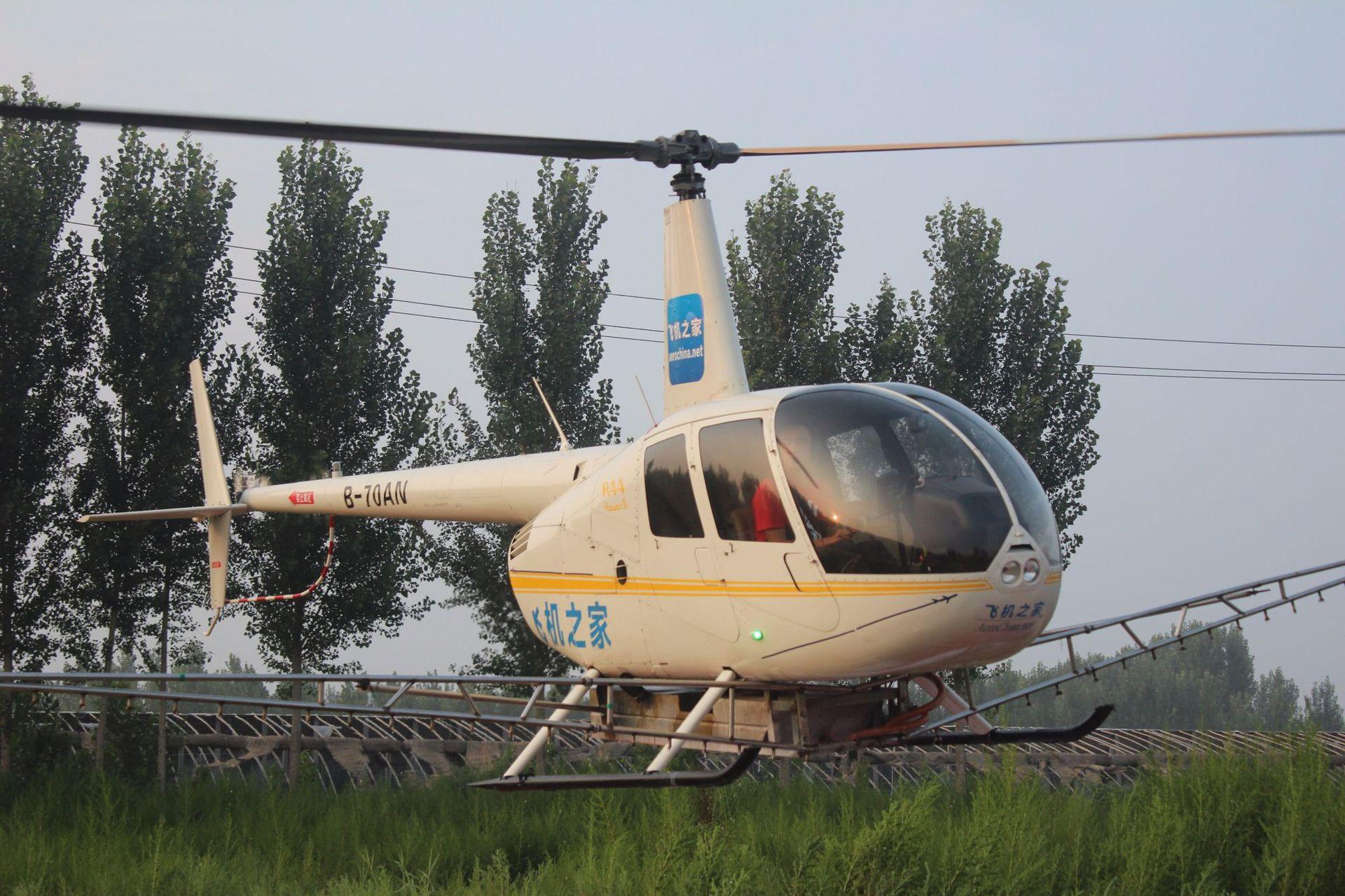 400万直升机赶往山东德州防治美国白蛾