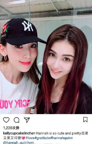 林志颖妻子和小9岁的昆凌合影,看起来完全就是同龄人!