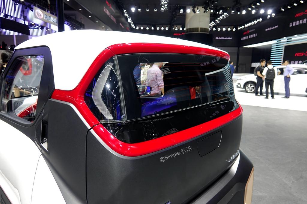 广州车展体验珍骏E200,美不清雅又使用,关键标价还低廉