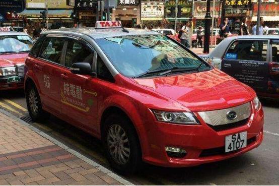 香港的比亚迪电动车为何会销声匿迹?