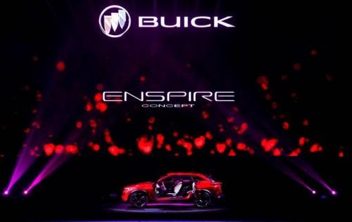 别克Enspire 纯电动SUV概念车