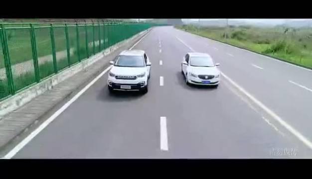尹哲实验室 长安CS55自动驾驶广告  ?