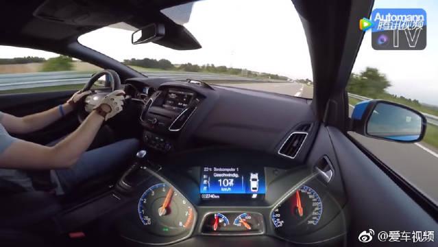 福克斯RS加速性能测试,手动挡钢炮开着太爽了!