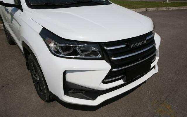 北汽幻速S3X实车图曝光 预计售7万元起, 新车定位7座紧凑型SUV