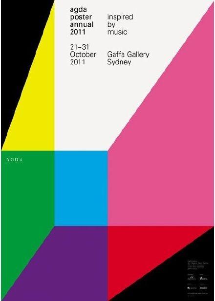 几何图形的巧妙运用提升海报设计感_新浪看点图片