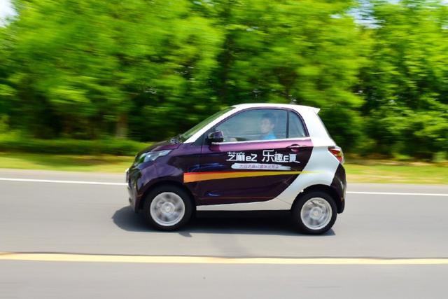 不到5万的两座纯电动车正式上市,比奇瑞eq还好看,续航210Km