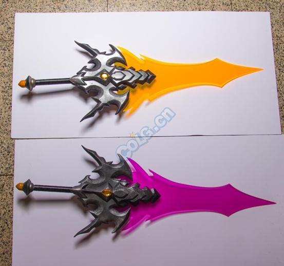 dnf荒古遗尘光剑&圣耀救赎光剑制作全过程图片