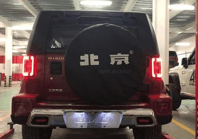 北京BJ40L plus到店实拍, 越野能力超H9, 灯光效果堪比灯厂奥迪