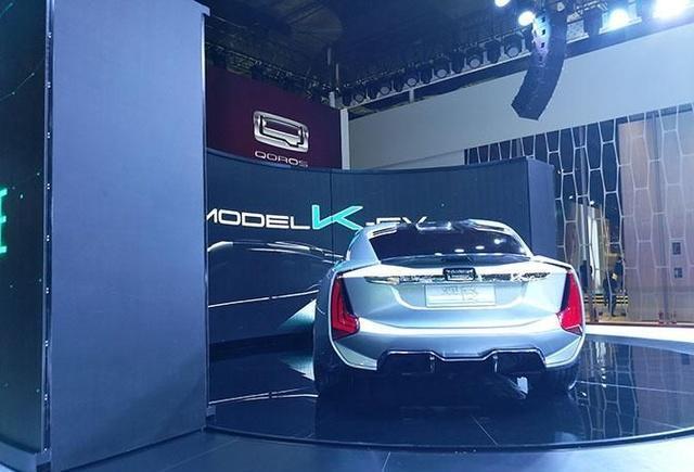 百公里加速仅2.6秒, 国产品牌的纯电动超级跑车亮相