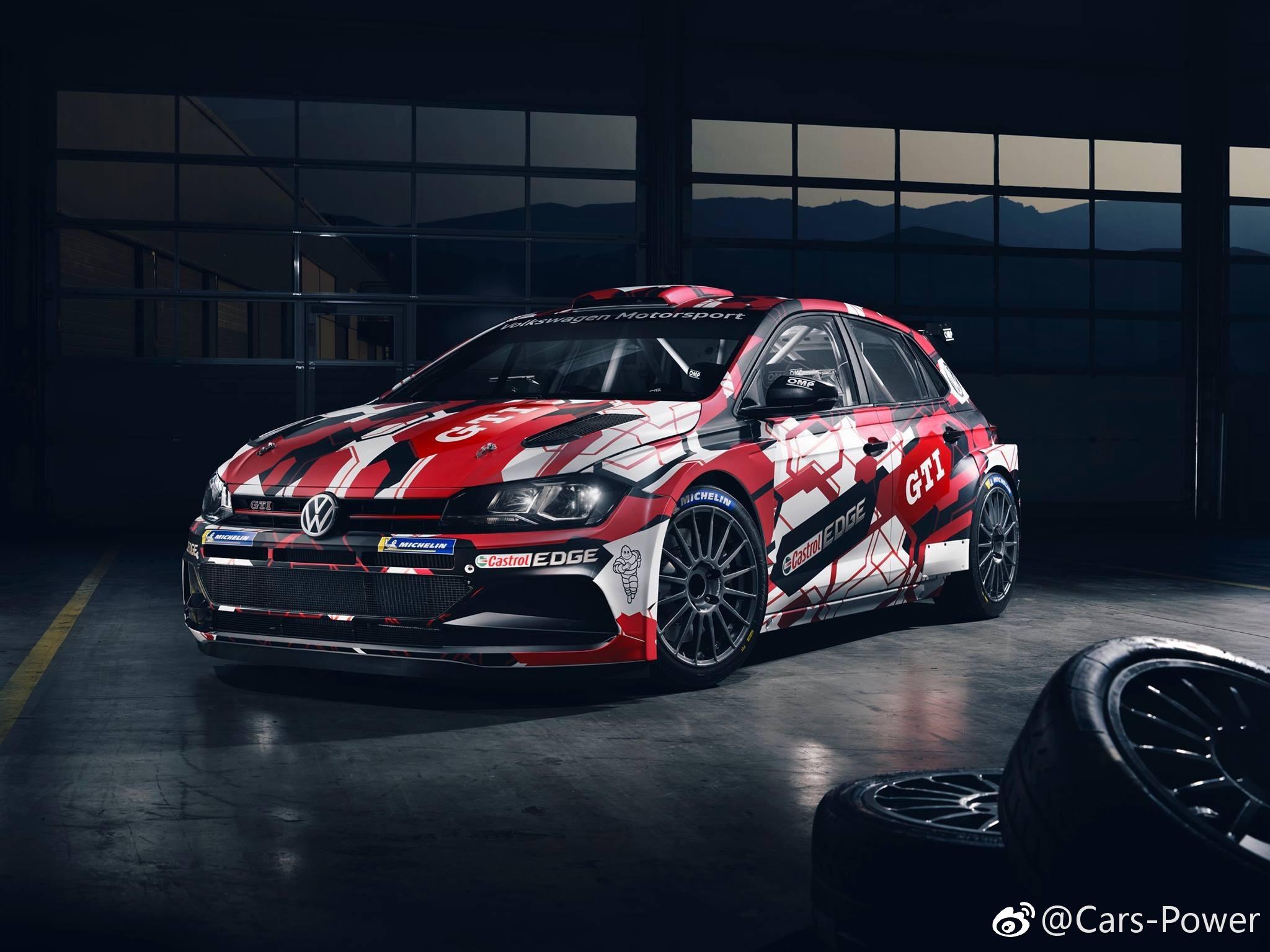 大众新POLO WRC 赛车