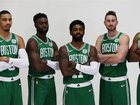 凯尔特人5巨头写真欧文在c位!新赛季全员健康的绿军什么水平?图片