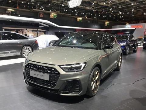 2018巴黎车展 全新一代奥迪A1首度发布 配色有点佛系