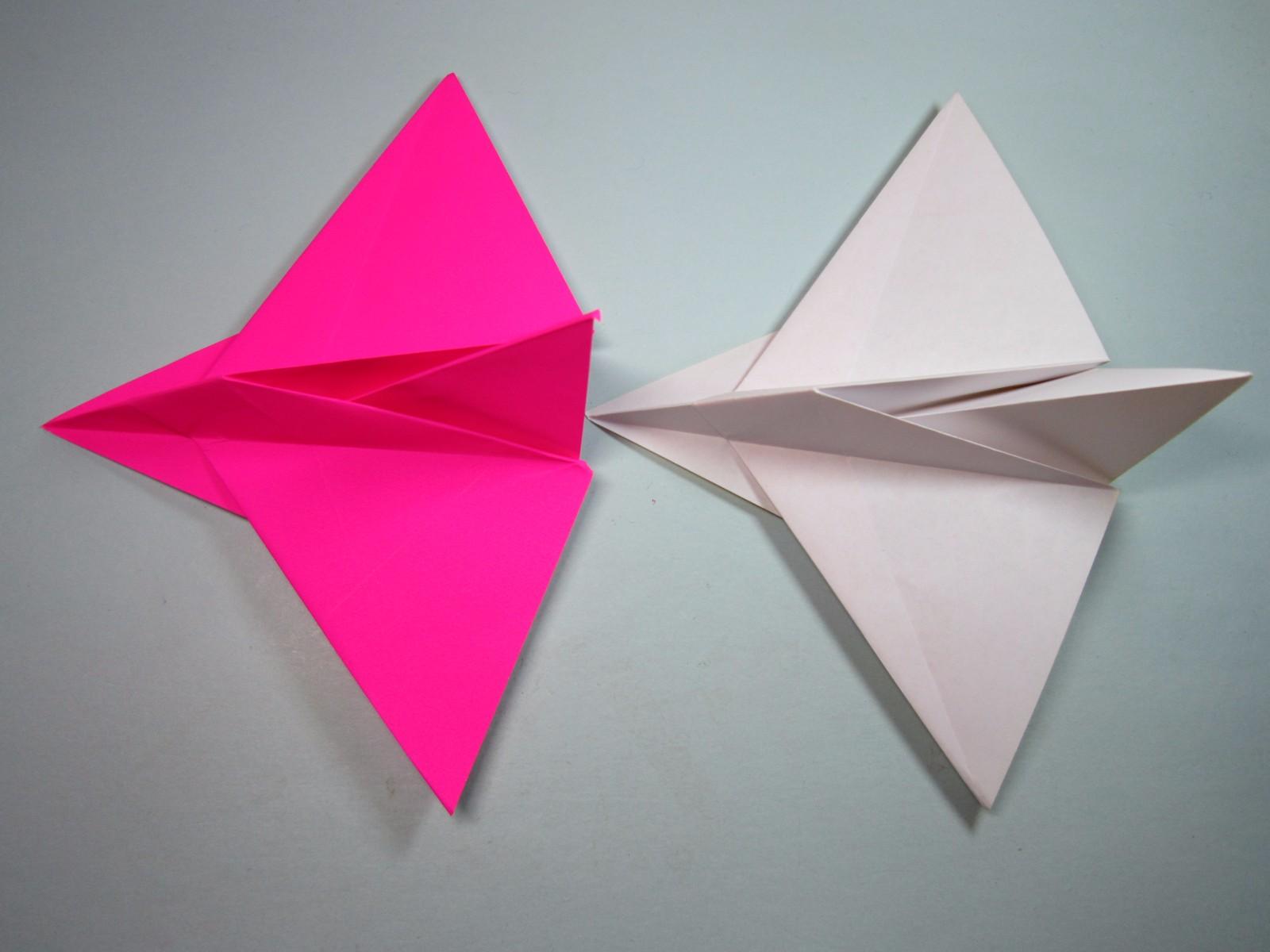 1张正方形纸3分钟折出美丽的纸飞机,diy手工飞机折纸教程