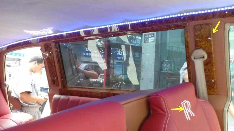 上当了,花7000元租劳斯莱斯,事后才知道是山寨车,注意这三款车