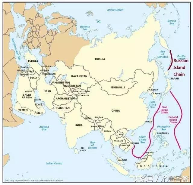 俄罗斯的堪察加半岛以及岛链会在地理上封锁中国舰队,而克里姆林宫会