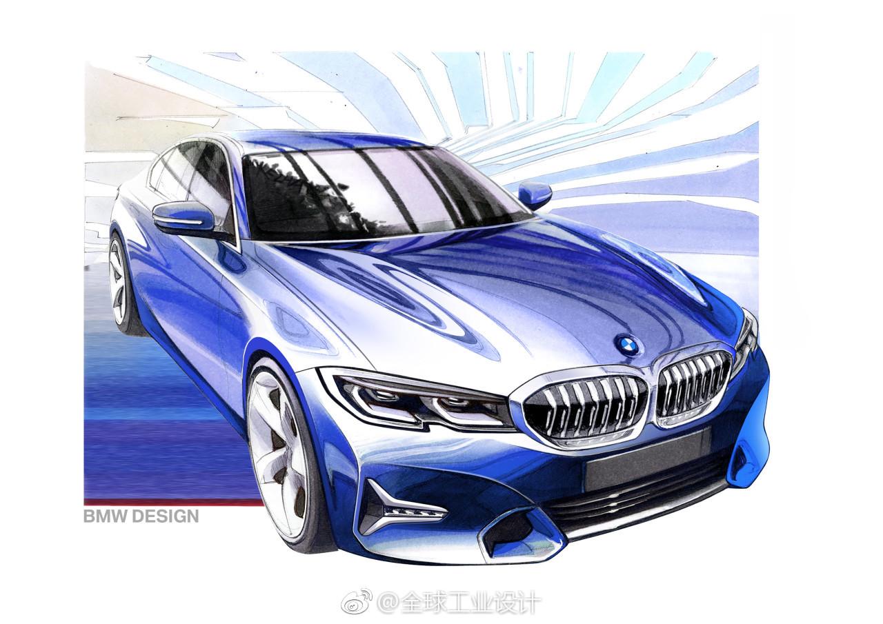 宝马在巴黎车展上推出了新一代3系轿车
