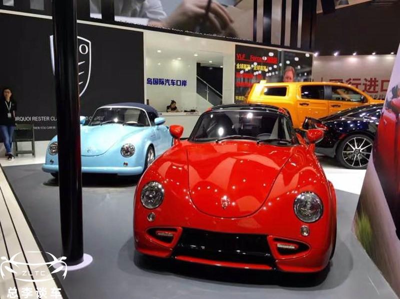 个性定制跑车,外形酷似保时捷,售价68万,老司机也未必认识