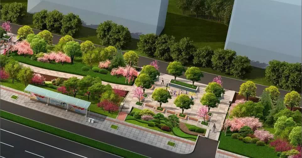 威海高区将新添四处街头游园在你家附近?为题作文的以回家初中图片