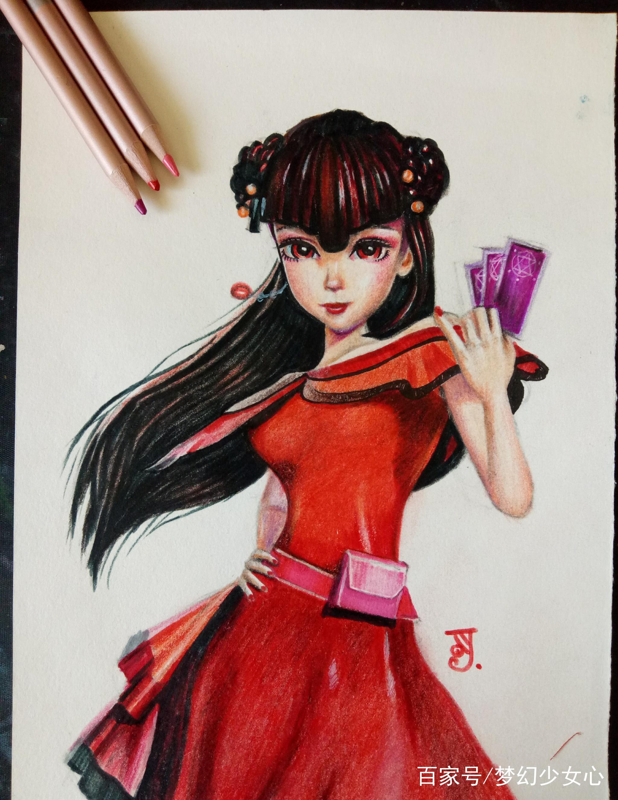 《精灵梦叶罗丽》最逼真手绘画像,花仙子希娜温柔,冰公主最美