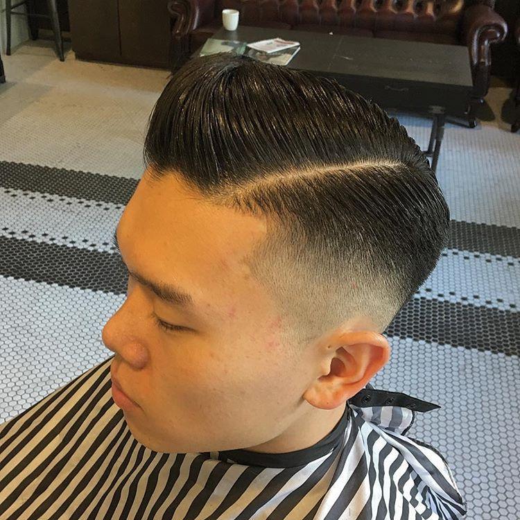 精选男生复古背头,油头发型,要有型,就这样剪图片