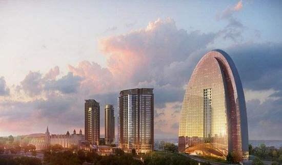 青岛西海岸,地标性建筑,魅力无限,独一无二!