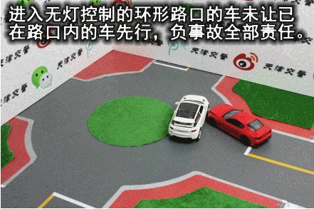 十字路口法则 路口发生交通事故该如何划分责任