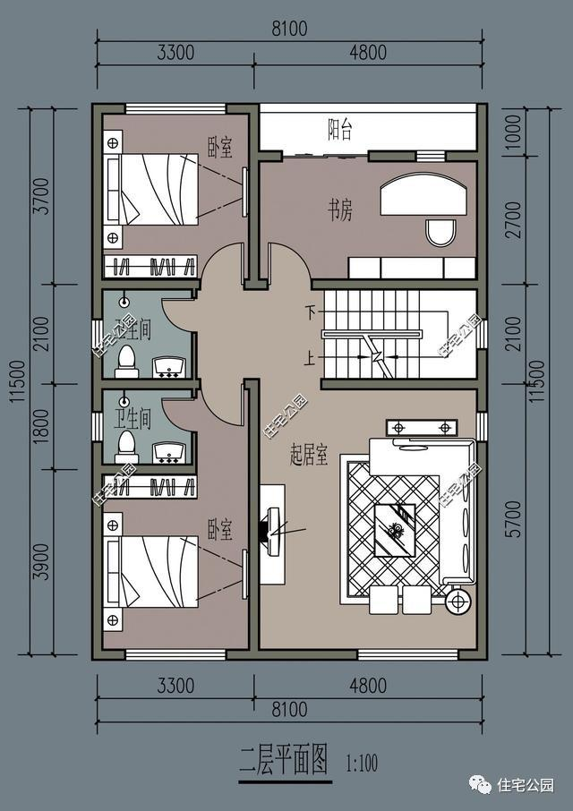 8x15米建房设计图