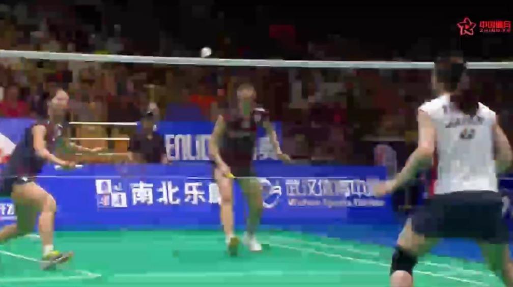 2018羽毛球亚锦赛女双决赛 首局福岛由纪/广田彩花后来居上 21.