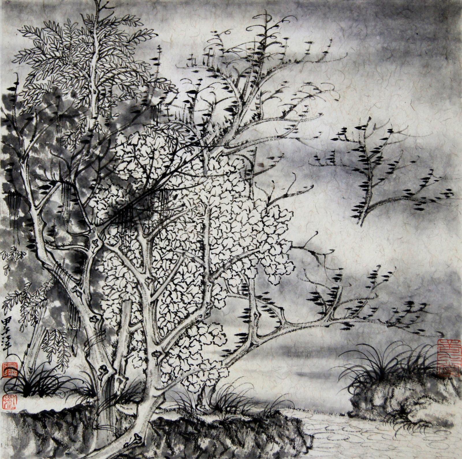 董江平:中国当代山水画家