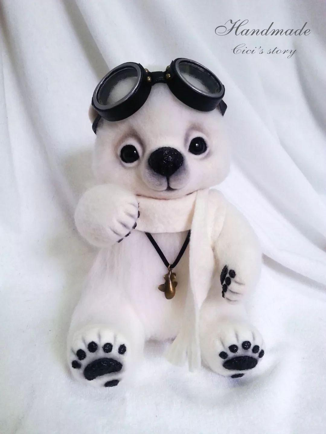 她用羊毛毡做出超可爱小动物,萌哭所有人!【免费公开课●大大微讲堂】