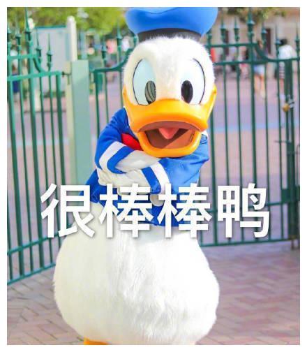 最近很火的鸭鸭元气:主角满满鸭、很棒棒鸭表情光环的搞笑图片图片