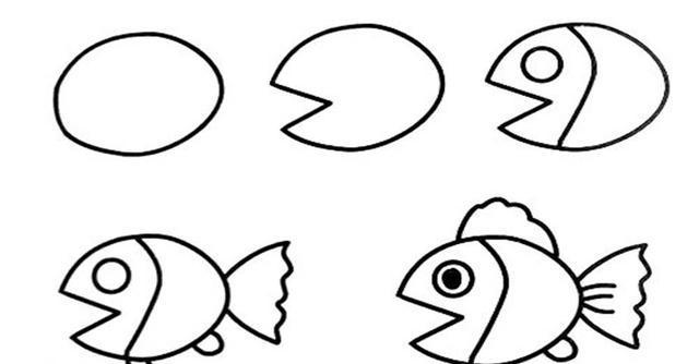 简单易学的儿童简笔画大全教程,各种可爱小动物的多种