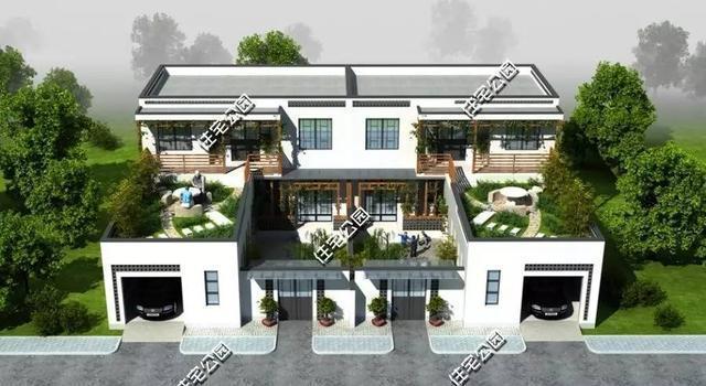 10套合院别墅, 第2中式合院第4现代两个实建案例哪个