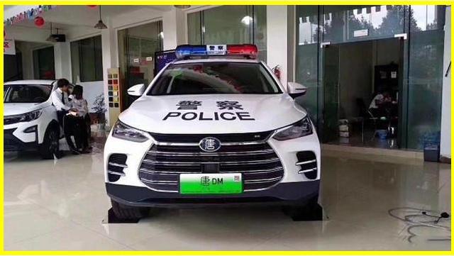 比亚迪唐二代警车现身,外观霸气够威武,百公里加速只需4.5秒