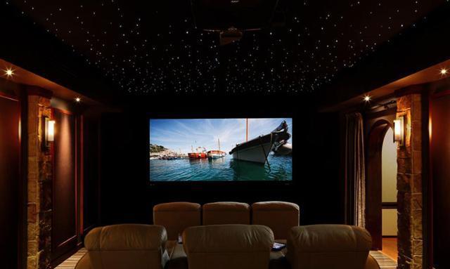 如何打造一个高大上的地下室家庭影院?