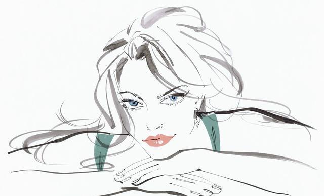 女生动漫丧图片手绘