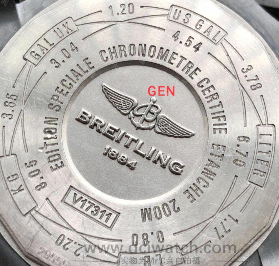 大C论表:ZF百年灵黑鸟侦察机对比正品,它的工艺到底如何?