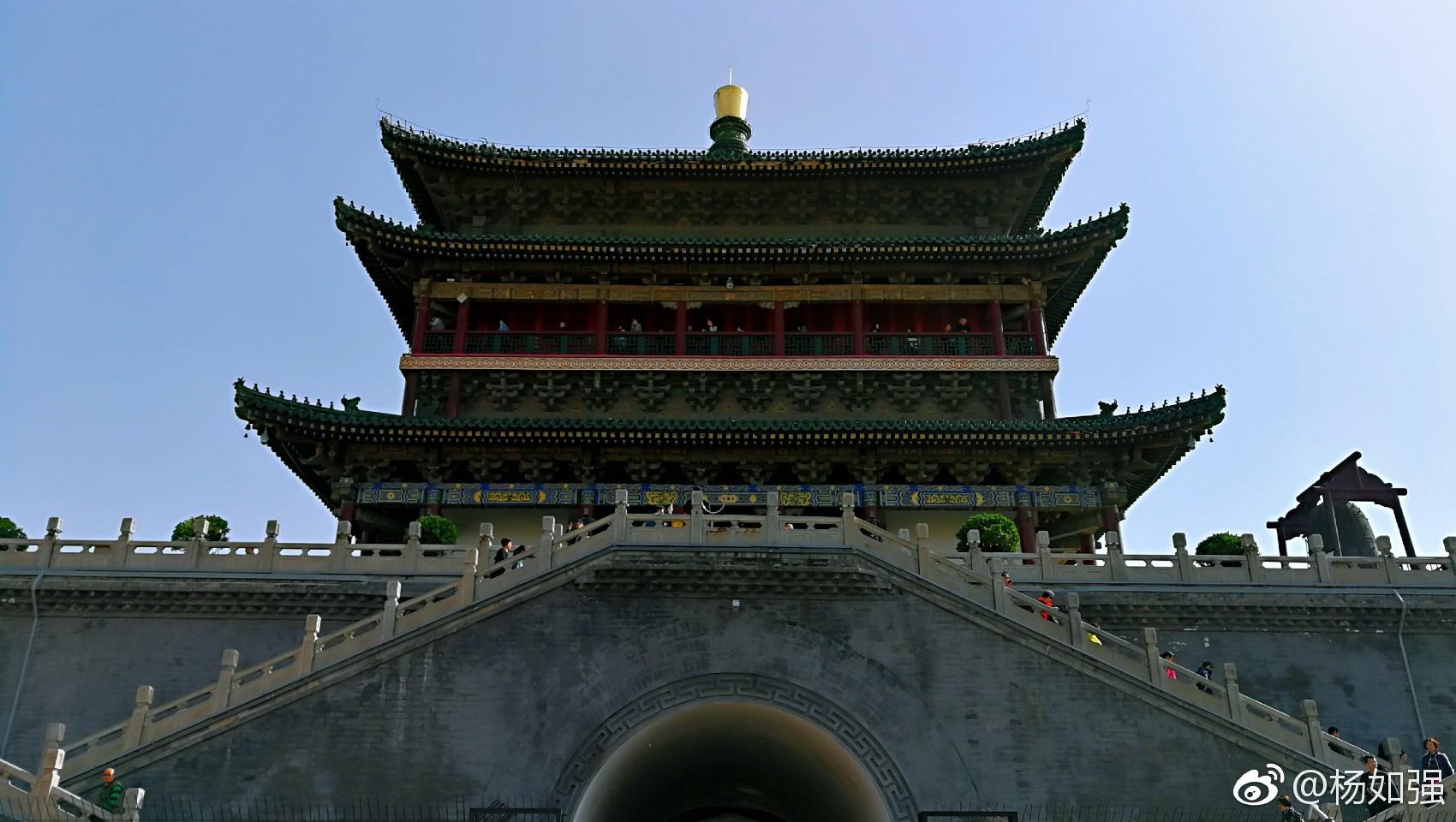 西安钟鼓楼,历史的记忆!