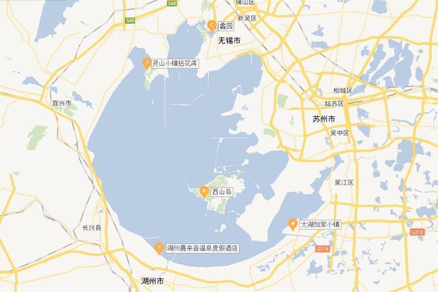 太湖地跨两省五市,沿岸5大小众景点速速收藏!图片