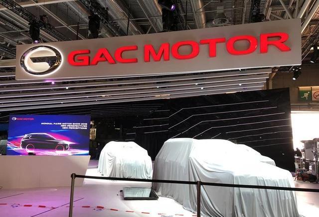 巴黎车展中的传祺GS5,10月2日全球首发