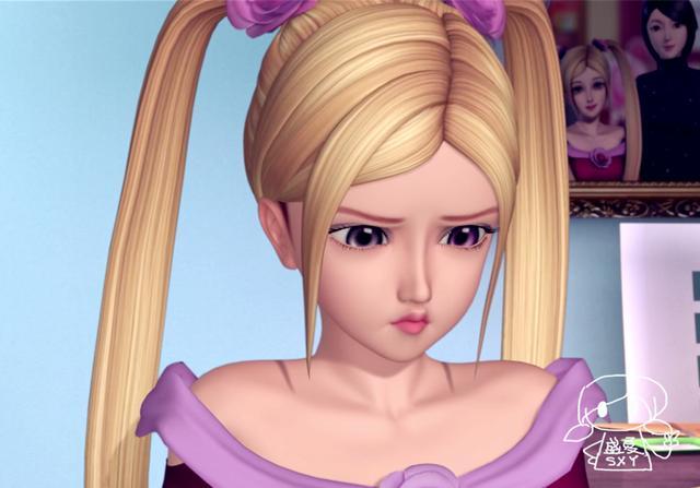 """叶罗丽仙子吃""""缩小丸""""后,菲灵可爱,网友:茉莉你的头发图片"""