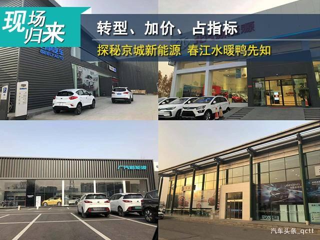 转型、加价、占指标,探秘京城新能源 春江水暖鸭先知