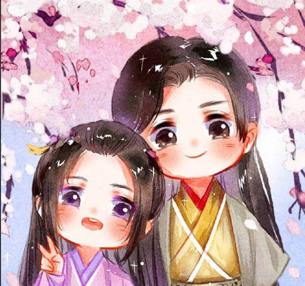 旭凤手绘卡通图片
