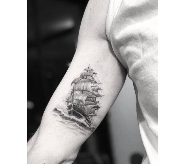 陈冠希,余文乐,权志龙的选择——美国纹身师dr. woo图片